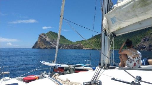 帆船X龜山島